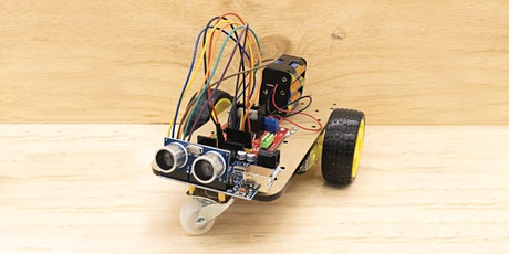 Robotics Beginners Workshop: Wall Dodging Robot. Seniors, Adults + Kids tickets