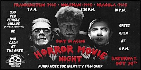Cult Classic Horror Movie Night - Saturday, October 30th tickets