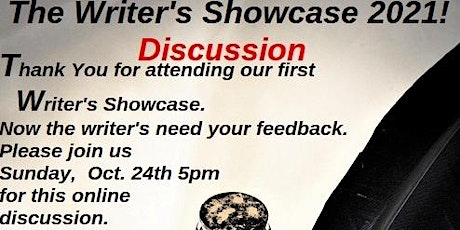 Discussion Writer's Showcase tickets