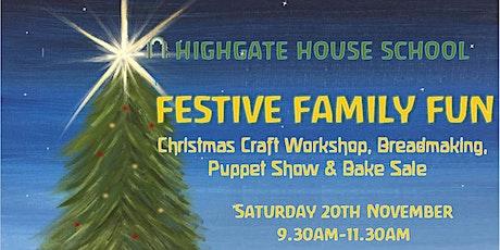 Christmas Workshop - Festive Family Fun tickets
