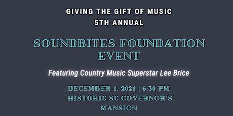 5th Annual SoundBites Foundation Event tickets