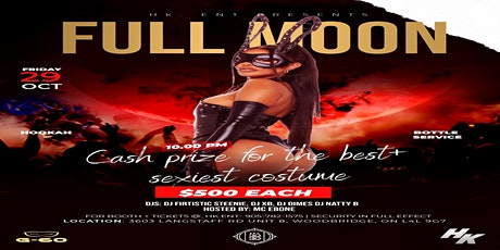 HK Halloween Costume Galore: Full Moon tickets
