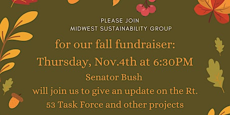 Fall Fundraiser with an update on the Rt53 Corridor  from Senator Bush tickets