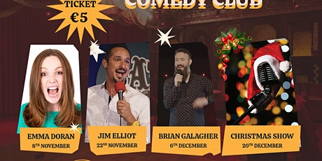Stitches Comedy at The Workmans Cellar with Brian Gallagher tickets