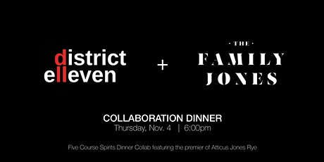 The Family Jones Collaboration Dinner tickets