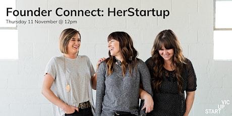 Founder Connect - HerStartup Tickets