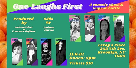 One Laughs First tickets