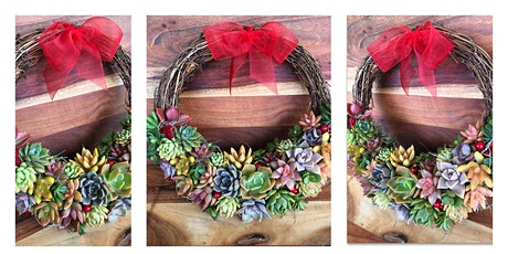 Succulent Christmas Wreath tickets