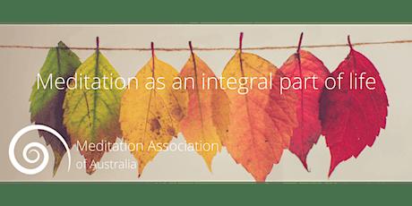 Meditation  Australia Annual General Meeting Sunday November 21st  2021 tickets