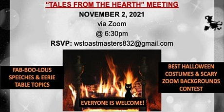 Tales from the Hearth Toastmasters Meeting tickets