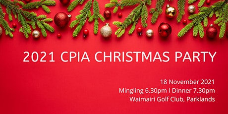 2021 CPIA Christmas Party tickets