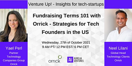 Fundraising Terms 101 with Orrick - Strategies for Tech Founders in the US tickets