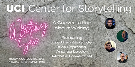 """""""Writing Sex: A Conversation about Writing"""" with Jonathan Alexander tickets"""