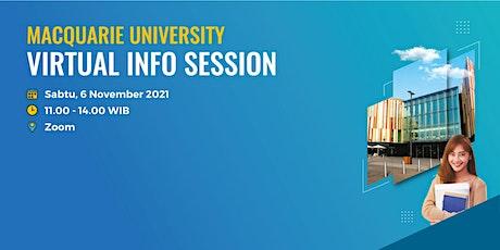 Macquarie University - Virtual Info Session entradas