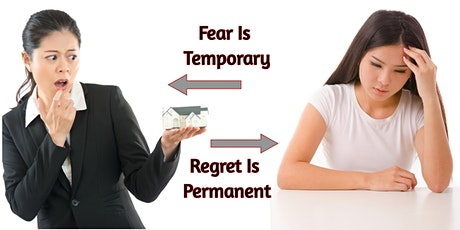 Overcome Your Fear Investing In Real Estate as Regret Is Permanent - Intro tickets