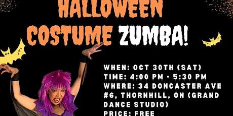Halloween Costume Zumba tickets