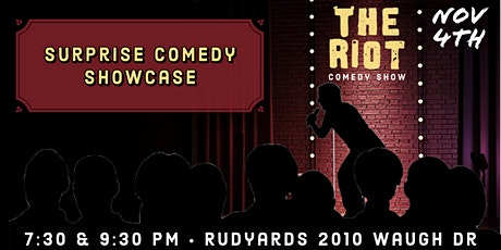 The Riot Comedy Show presents Surprise Comedy Showcase tickets
