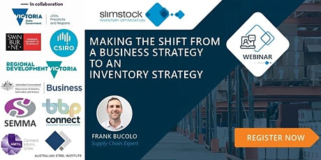 Making the shift from a business strategy to an inventory strategy tickets