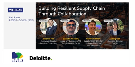 Building Resilient Supply Chains Through Collaboration tickets