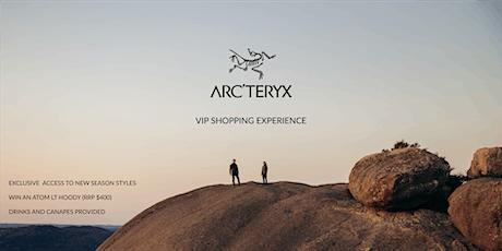 VIP Shopping Experience - Arc'teryx Chadstone tickets
