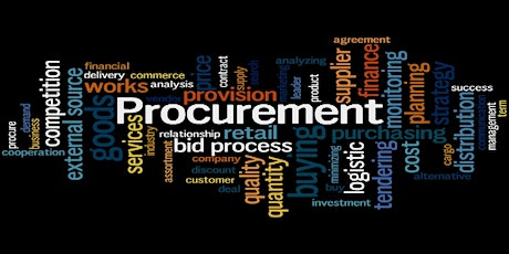 Procurement, doing business with the government tickets