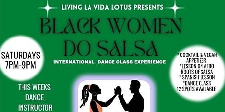 Black Women Do Salsa-Saucy Salsa Dance Experience boletos