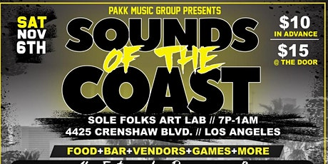 PAKKMUSICGROUP presents: Sounds of the Coast tickets