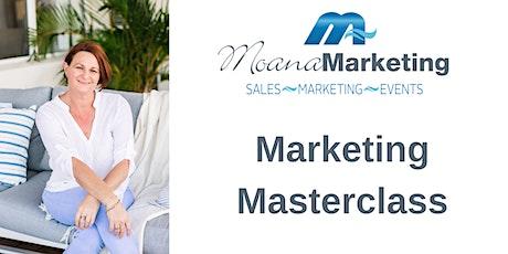 Full Day Marketing Masterclass - Nov 2021 tickets