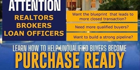 Realtors & Lenders Creating More Qualified Buyers tickets