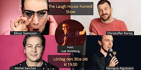 The Laugh House Ståupp Komedi 30:e oktober tickets
