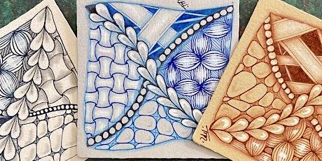 Zentangle Meditative Art - 4 week Beginners course tickets