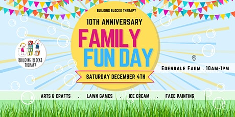 Building Blocks Therapy Family Fun Day tickets