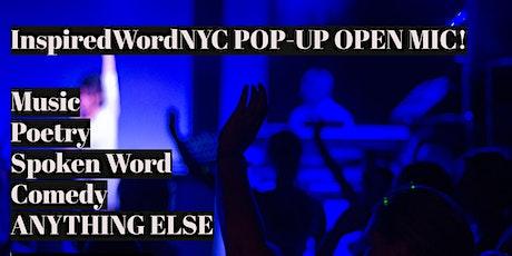 InspiredWordNYC's Saturday Afternoon Pop Up Open Mic tickets