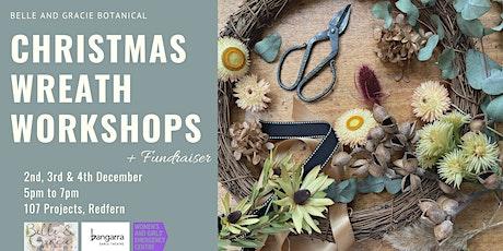 Everlasting Christmas Wreath Workshop - Fundraiser tickets