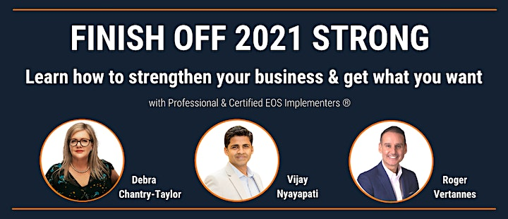 Get a Grip on your Business & Finish 2021 Strong! image