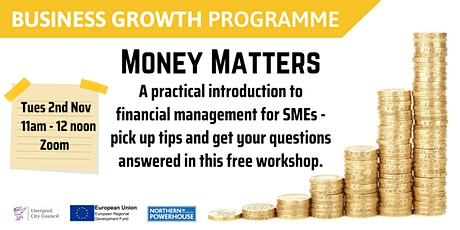 Money Matters: Financial management for SMEs tickets