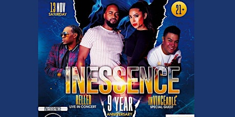 Inessence 9th Anniversary & Relleo Live in Concert tickets