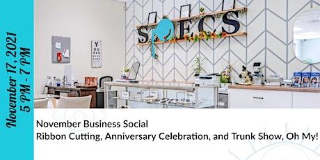 November Business Social & Ribbon Cutting tickets