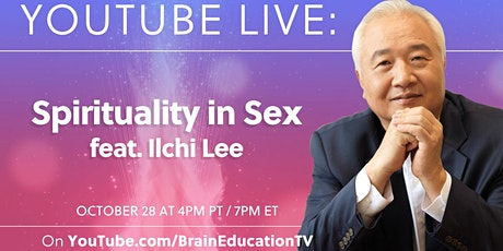 """FREE ONLINE LIVE: """"Spirituality in Sex"""" with NYT Bestselling Author tickets"""