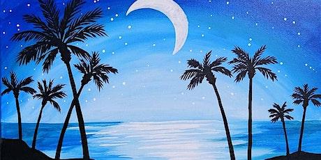 "Sip and Paint  -  ""Moonlit Paradise""  Bushfire Kitchen La Costa tickets"