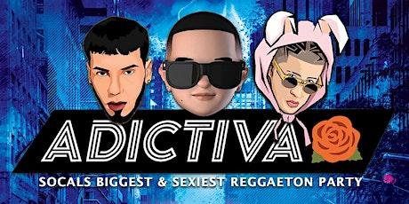 ADICTIVA - HALLOWEEN REGGAETON PARTY 18+ / SATURDAY NIGHT tickets