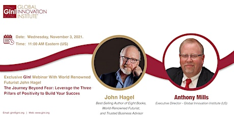 The Journey Beyond Fear - Leveraging the Three Pillars of Positivity tickets