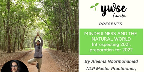 Mindfulness and the  natural world tickets