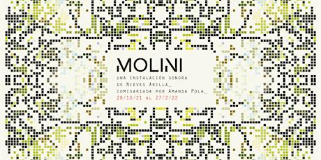 Inauguración - charla: Molini. Una instalación sonora de Nieves Arilla entradas