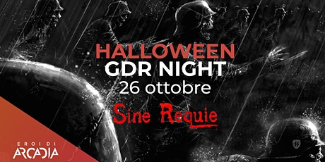 Halloween GDR Night biglietti
