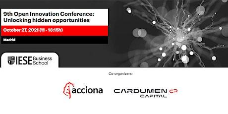 9th Open Innovation Conference: Unlocking hidden opportunities entradas
