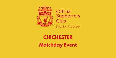 CHICHESTER | Four Chesnuts | West Ham v LFC | 16:30 k/o tickets