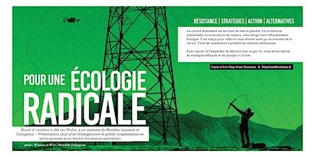 Pour une écologie radicale - Présentation Deep Green Resistance à Plufur billets