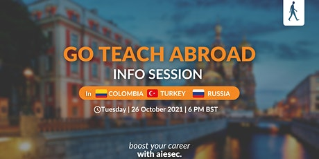 Go Teach Abroad with AIESEC!   Information Session tickets