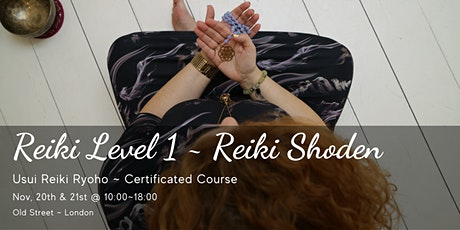 """Usui Reiki 1 """"Shoden"""" ~ 2 Day Certificated Course by Saraswati's Universe tickets"""
